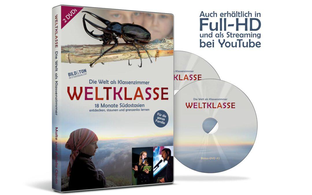 Doppel-DVD 'WELTKLASSE | Die Welt als Klassenzimmer'