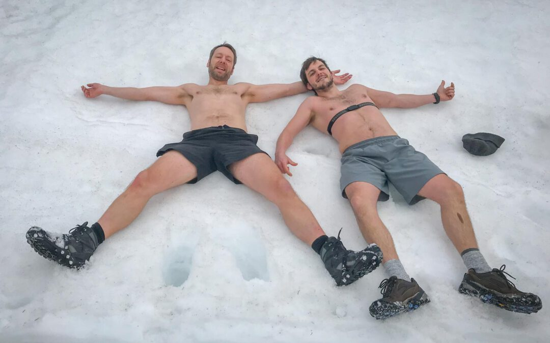 Icetraining with Wim Hof in Poland